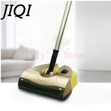 JIQI Handheld drag Cordless electric sweeper rechargeable mopping robot vacuum cleaner sweeping mop cleaning broom 110V 220V EU