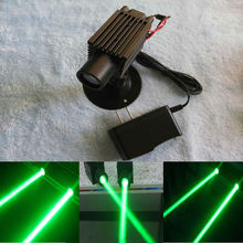 Coarse beam green laser dot laser module bar wine block laser chamber laser stage props to 200mw(China)