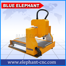Easy to operate cnc router,ELE6040 small model cnc router with towed structure