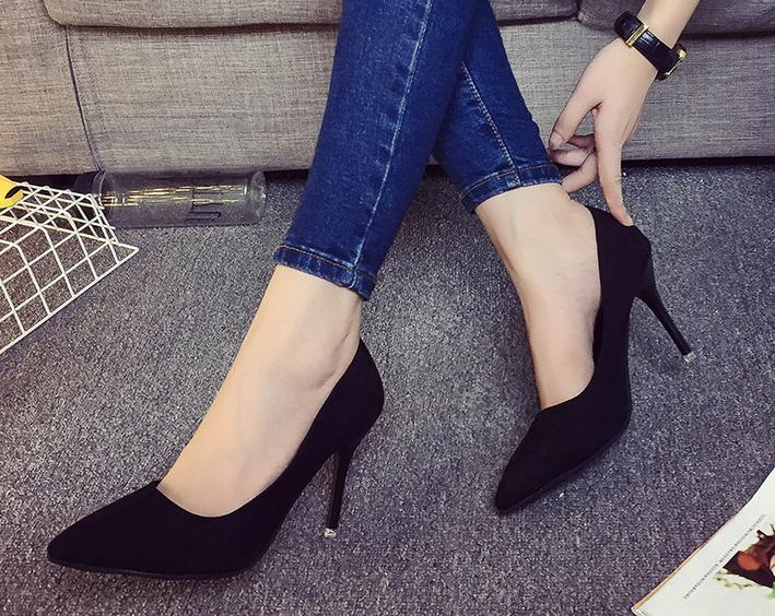 5.shoes woman 2016 new summer high heels with fine...