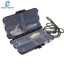 Fishing Tackle Boxes 9 Compartments Fishing Case Fish Lure Bait Hooks Tackle Tool for Storing Swivels, Hooks, Lures, etc