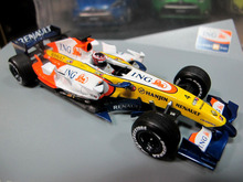 Free Shipping ING RENAULT F1 1:43 Metal Model Car Toys Fans Limited Collection Diecast Alloy Figures Kids Luxury Gift