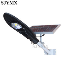 2017 Hot Pushed Super Bright 16V 12W Solar LED Street Light   Ray+Time Control