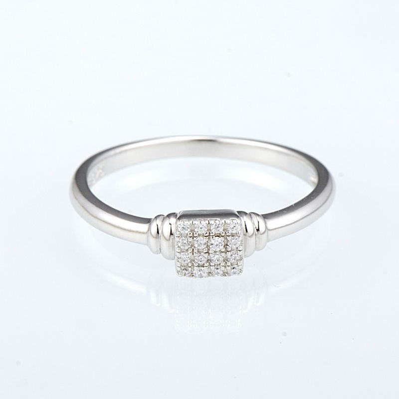 R307091WCZSL925-SV1-Silver Ring