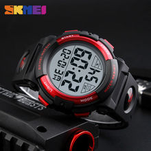 2017 Sports Watches Mens Outdoor Fashion Digital Watch Multifunction Waterproof Wristwatches Man Relogio Masculino SKMEI New(China)