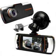 "2.7"" A11 Full HD 1080P LCD Car Dual Lens Black Box Dash Rear Camera Video Recorder Vehicle DVR with Night-mode"