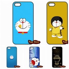 Japanese Fashion Lovely Doraemon Cover Case For iPhone 4 4S 5 5C SE 6 6S 7 Plus Galaxy J5 A5 A3 S5 S7 S6 Edge