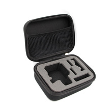 TELESIN Small Size Black Portable Carry Case Gopro Case For Gopro Hero 4/3+ Hero3 /2 Go pro Bag Camera Accessories