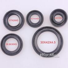 Oil Seal Set For 50 70 90 110 125CC DIRT PIT BIKE TAOTAO SUNL ROKETA Coolster