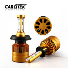 CARLitek H4 H7 Led Headlights Bulbs for Car Diodes Automobiles LED H8 H9 H11 HB3 9005 HB4 9006 Car Driving Light 12V Fog Light(China)
