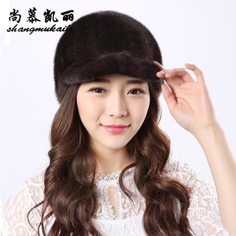 Knight hat Real mink fur hat knitted hat for winter women beanie fur skullies beanies 100% Natural Genuine fur caps thick warm Îäåæäà è àêñåññóàðû<br><br>