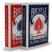 NEW Bicycle Poker 1pcs Blue or  Red Standard Bicycle Playing Cards Magic Tricks Free Shipping MADE IN CHINA S32