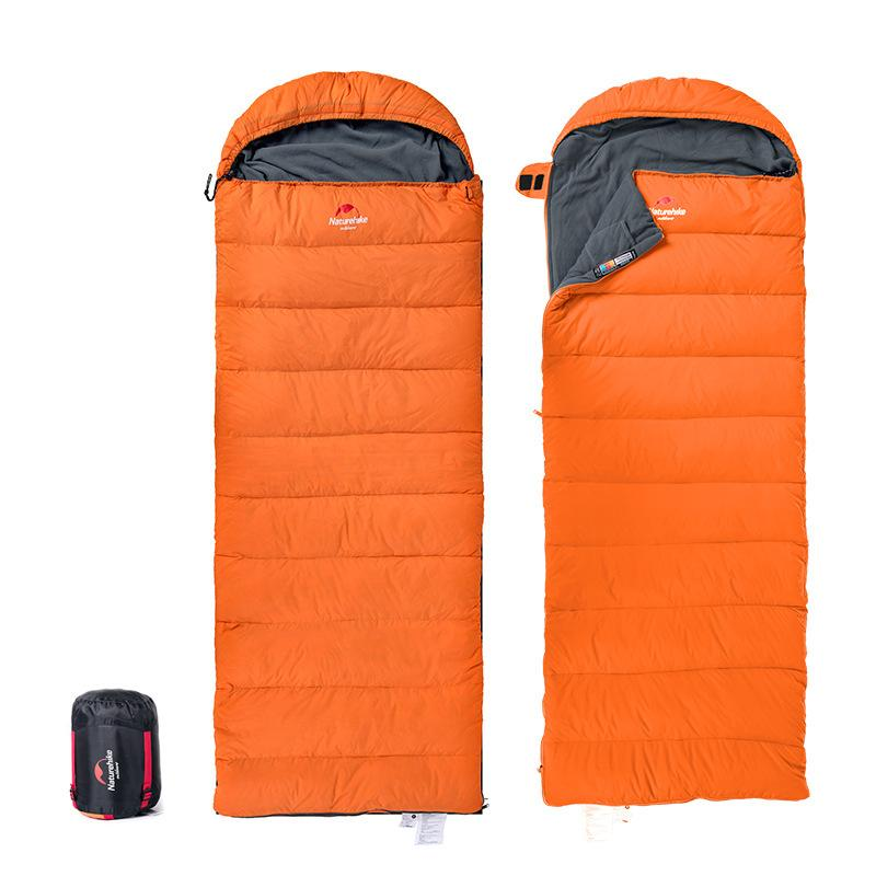 Camping &amp; Hiking Envelope Type Hooded Type Winter Down sleeping bags  --15 Degrees outdoors Size: 220CBM * 75CBM--D2<br><br>Aliexpress