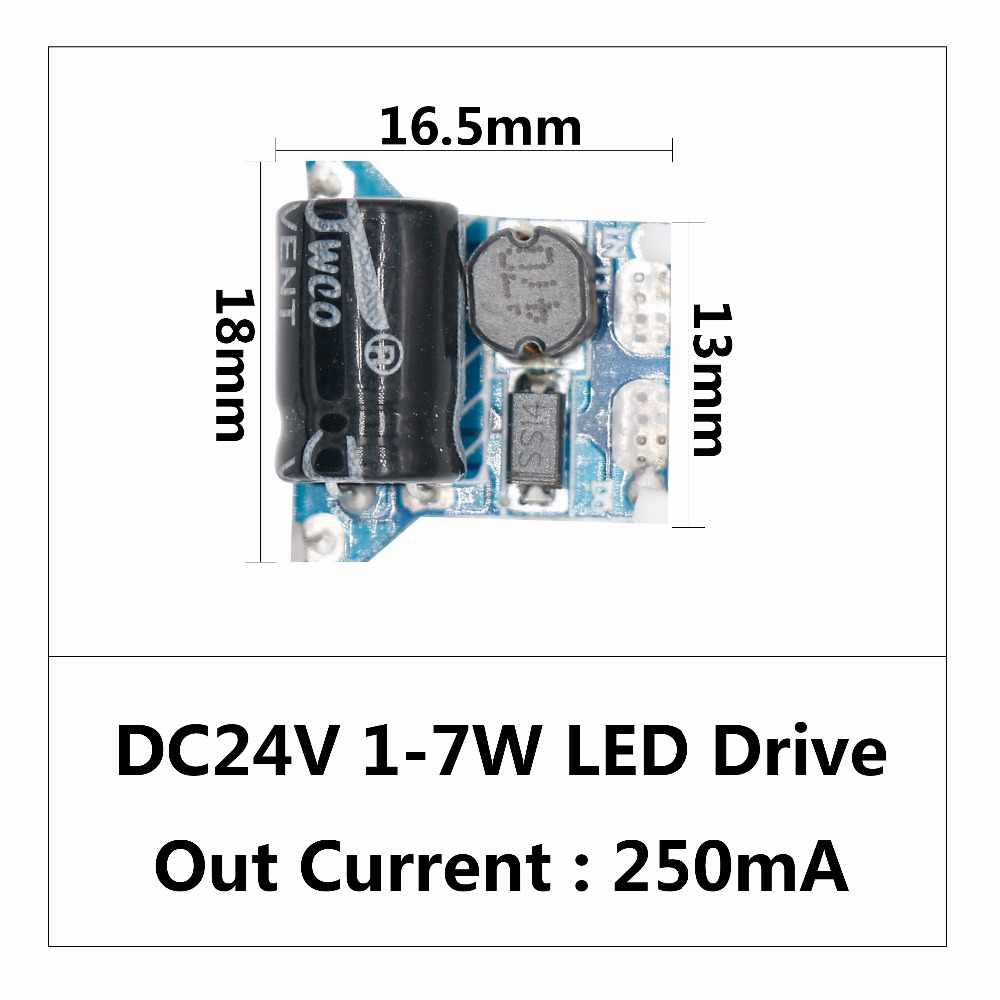 detail feedback questions about 2018 newest 10w dc 12v ~24v ledled driver dc24v 1w 18w power supply constant current automatic voltage control lighting transformers for