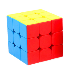 Cubing Classroom Mini 3x3x3 Magic Cube Puzzle Toys for Competition Challenge - Colorful(China)