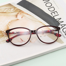 Acetate Frame eyewear accessories brand myopia computer eye glasses transparent women(China)
