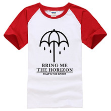 BRING ME THE HORIZON 2017 Fashion Short Sleeve T shirt Men Brand clothes Printed Cotton Tshirt Homme Top Tees funny male shirts