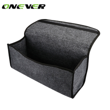 Onever Buendeer Car Soft Felt Storage Box Trunk Bag Vehicle Tool Box Multi-use Tools Organizer Bag Carpet Folding for emergency