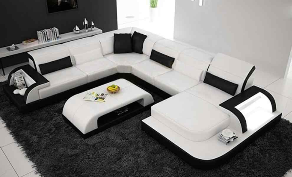 free shipping delivery to Rotterdam!! modern design U shape ...