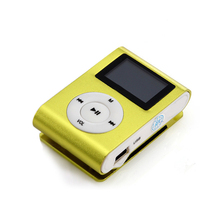 MP3 Player MP 3 mini lettore lcd screen speler music clip reproductor kids sport cheap led mp3 players aux usb digital audio(China)
