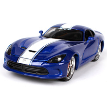 Maisto 1:24 Dodge 2013 SRT Viper GTS Involving Cars Sports Car Diecast Model Car Toy New In Box Free Shipping 31363