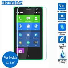 For Nokia XL Tempered Glass Screen Protector 0.26mm 2.5 9h Safety Protective Film on Phone 4G Dual Sim