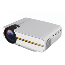 YG400 LCD Portable Mini Projector 1000 lumens 800 x 480 Pixels 1080P Project Home Theater Movie for Video Games Media Player