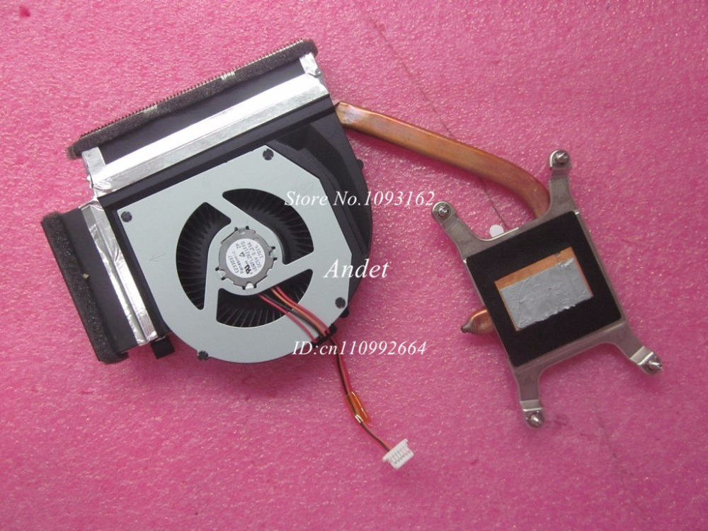 New Original for Lenovo T530 T530i Integrated CPU Cooling Heatsink Fan 04W6905 04W6904 04W6906<br>