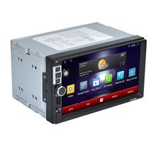 Car-styling 7 2Din Stereo Car Android MP5 Player Bluetooth Touch Radio AM/FM/RDS/GPS/USB/SD ja18