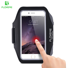 Floveme Sport Running Arm Band Case For iPhone 8 7 6 6s Plus 5S SE 5 Phone Bag For Apple iPhone 5S 5 SE Cover Pouch Accessories(China)