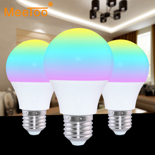 Newest 4.5W E27 RGBWW Led Light Bulb Bluetooth 4.0 Smart Lighting Lamp Color Change Dimmable Home Hotel KTV Bar Decor AC85-265V(China)