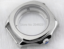 Parnis 40mm Stainless steel watch case fit eta 2824 shanghai 2824 movements