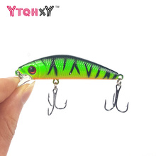 1Pcs Fishing lure iscas artificiais para pesca 6# Hooks 7cm 8.5g Minnow wobbler crankbait swimbait Hard Lures Fishing tackle WQ9(China)