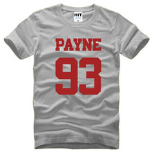 Liam Payne 93 One Direction 1D Rock Music Mens Men T Shirt Tshirt Fashion Summer New O Neck Cotton T-shirt Tee Camisetas Hombre