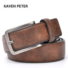 Accessories For Men Gents Leather Belt Trouser Waistband Stylish Casual Belts Men With Black Grey Dark Brown And Brown Color(China)