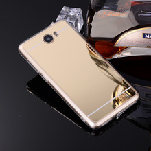 Case Cover For Huawei Y5II Case Y5 II Y6 ii Compact Y6 ii MINI Plating Mirror Soft TPU Phone Back Cover CUN-U29 Honor 5A LYO-L21