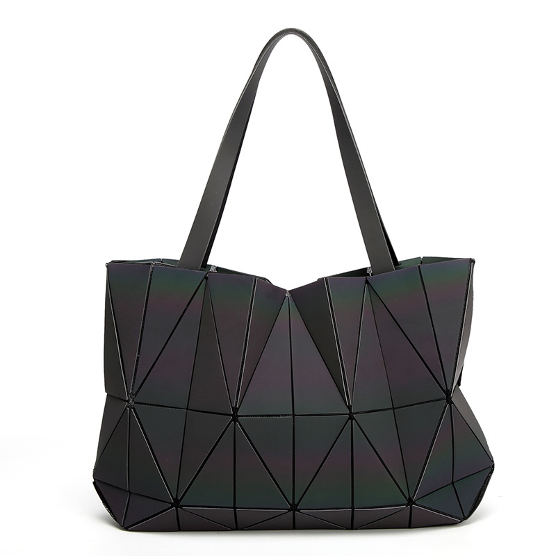 New Luminous baobao Women Bags Geometric Luxury Brand Ladies Shoulder Bags Diamond Lattice Bao bao Handbag sac femme<br>
