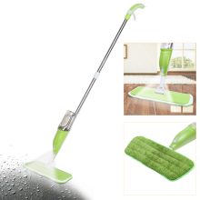 350ML Spray water Mop Aluminium Pole Microfiber 360 Degree Rotate Mop Household Floor Cleaning Water Spray Squeezee Mop(China)