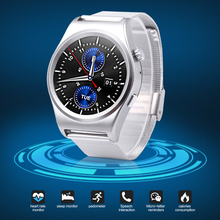 X10 Bluetooth Smart Watch Phone IP65 Waterproof Smartwatch Support Pedometer Heart Rate Monitor Round Wristwatch for Android IOS