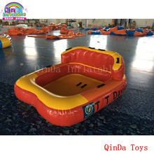 1.85*1.7m water sport games flying sofa ,water ski tube inflatable crazy UFO with free pump(China)
