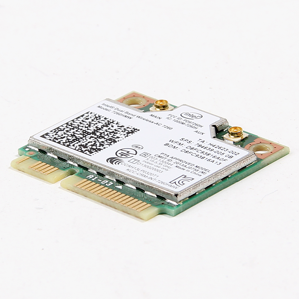 HP 784639 Intel 7260HMW WiFi Wireless  AC Dual Band Bluetooth mini pcie card
