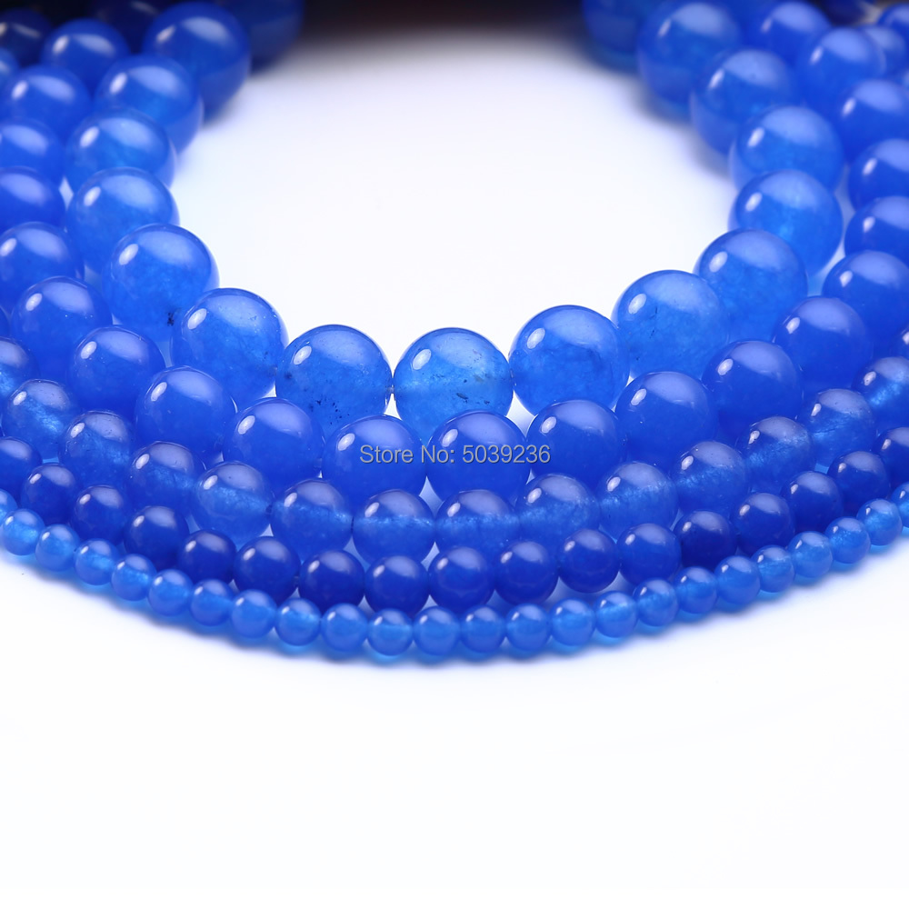 4mm Blue Sodalite Round Beads Gemstones Natural Stone Small Tiny B-1A