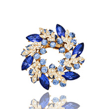 free shipping 7 colors for choose OPal rhinestone brooches for wedding butterfly brooch for women fashion jewelry good gift