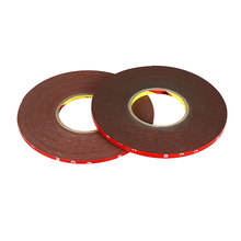 30m*6/8mm Width Silicone Double Sided 3M Tape Sticker For Car High Strength No Traces Double Sided Adhesive Sticker Accessories