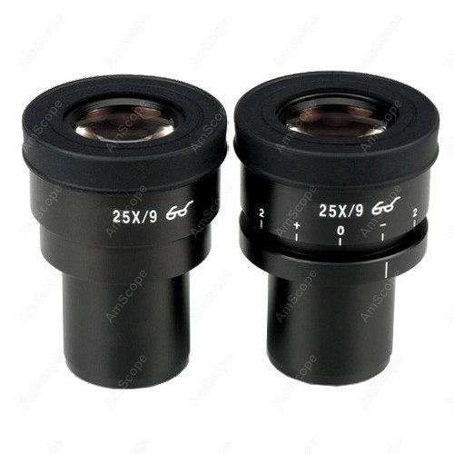 Focusable  Eyepieces-AmScope Supplies Pair of Focusable Extreme Widefield 25X Eyepieces (30mm) SKU: EP25X30F<br><br>Aliexpress