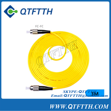 FC-FC Connector single model single core patchcord Optical Fiber jumper 3M FC Optical fiber connector coupler