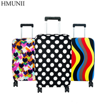 High Quality Fashion Travel on Road Luggage Cover Protective Suitcase cover Trolley case Travel Luggage  Dust cover for 18 to 30