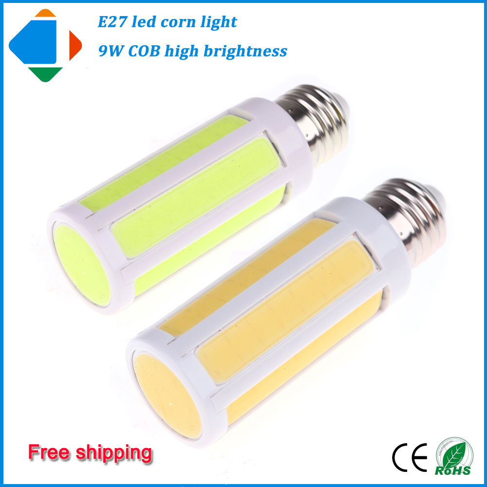 1Pcs e 27 led bulb lamp COB 9w 360 degree lampen 110v 220v high quality lights bulb for home lighting warm white pure white<br><br>Aliexpress