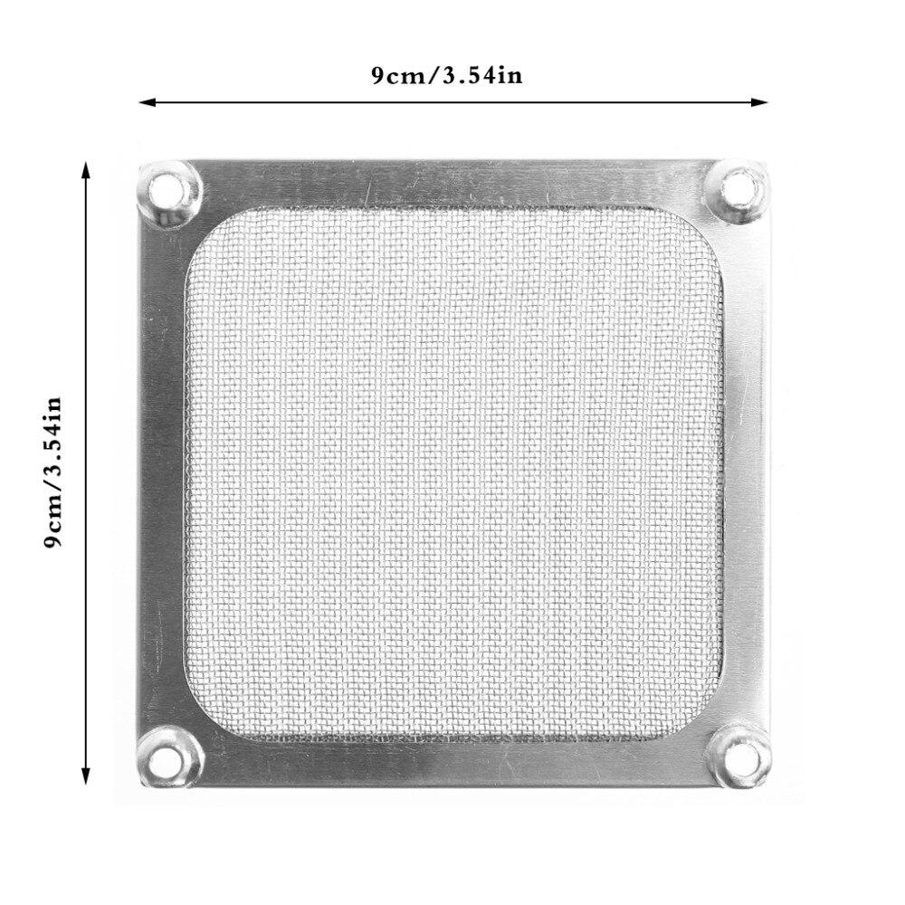 80/90/120 size Metal Dustproof Mesh Dust Filter Net Guard 12cm/9cm/8cm For PC Computer Case Cooling Fan