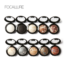 Focallure 2017 Hot Sale Fashion Delicate Ultra-Light Shimmer Radiant Baked Eyeshadow Colorful Eye Beauty Makeup Palette